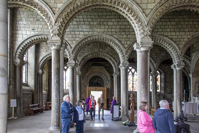 Galilee Chapel, Durham Cathedral, Durham, England
