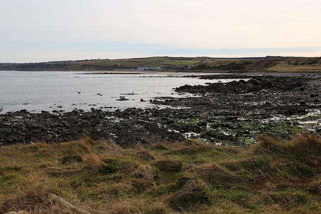 The coast east of Whitehills