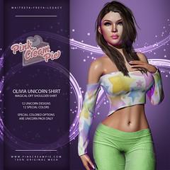 Olivia Unicorn Shirt @ Fly Buy Fridays 6/5!