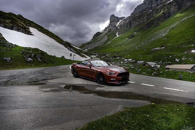 Road from Klausenpass - Spiringen - Uri - Switzerland