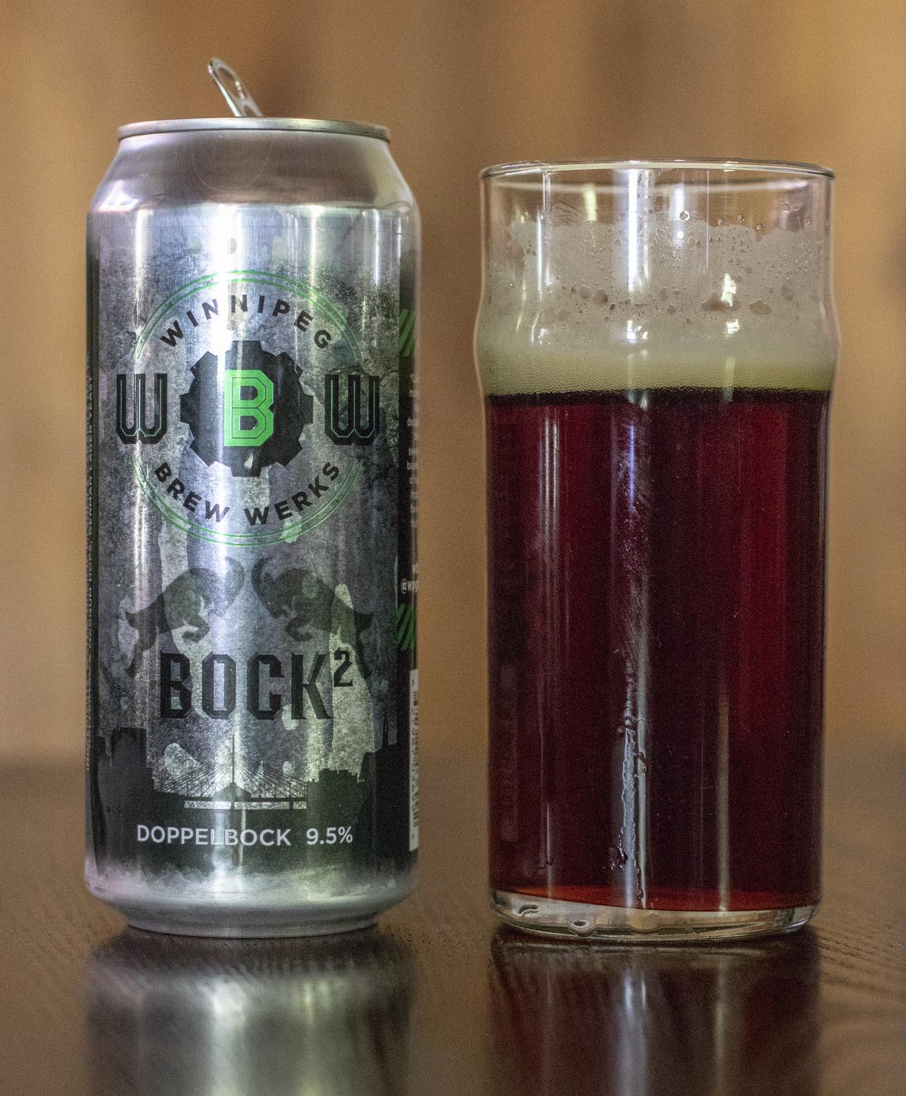 Winnipeg Brew Werks Bock² (BockSquared)
