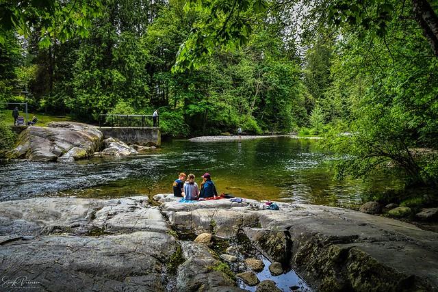Davidson's Pool (Hot Rocks) - Alouette River