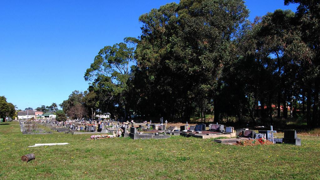 Smithfield Cemetery, Smithfield, Sydney, NSW.