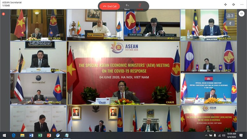 (JUNE) Special ASEAN Economic Ministers' (AEM) Virtual Conference Meeting on Covid-19 Response