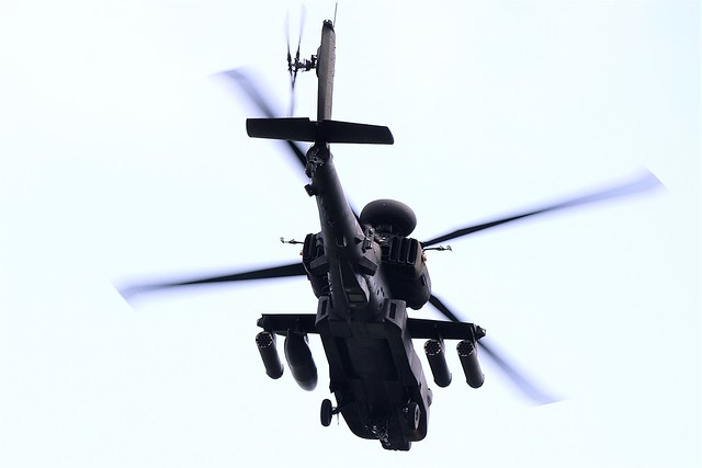 Westland WAH-64D Apache Helicopter ZJ224 Army Air Corps (British Army) Based at Wattisham Suffolk UK