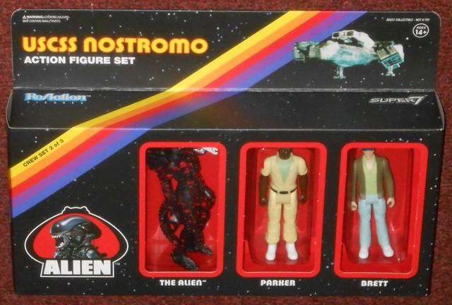 Super7 - ReAction USCSS Nostromo Set