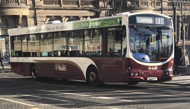 Lothian Buses 120 SN04 NHL (28/01/2019)