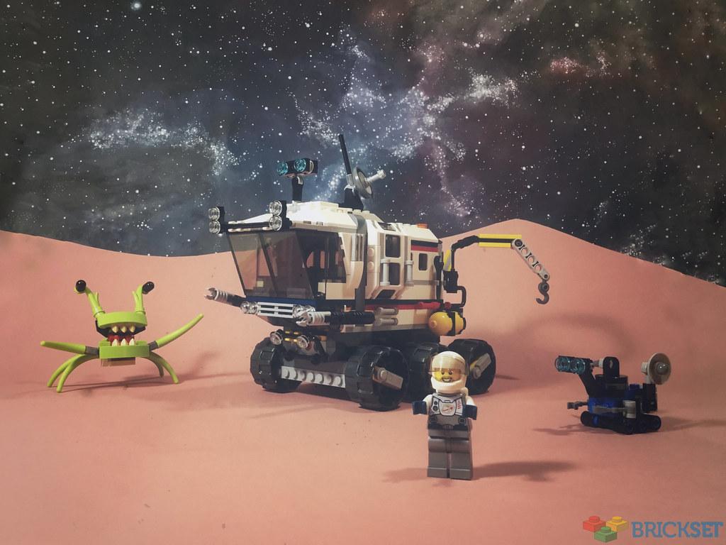 Review: 31107 Space Rover Explorer
