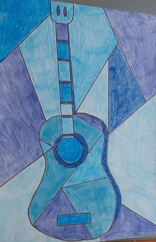 Ivan Castro ( Arte guitarra azu )