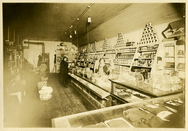 Martinsen General Store, circa 1920 - Kingsbury, Indiana