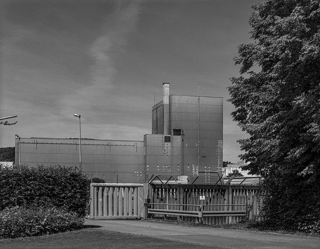 Decommissioned Nuclear Power Station