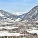 Ariel view of Bad Hofgastein, Austria in winter_130220_01