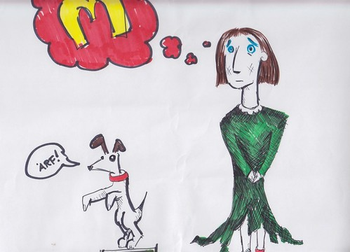 Illustration for Veronica's Dream, written by New Lodge Arts Academy, Junior Drama Group