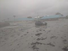 Tropical Cyclone Tino hits Tuvalu, January 17 2020