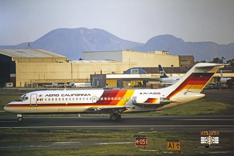 Aero California / McDonnell Douglas DC-9-15 / XA-AGS