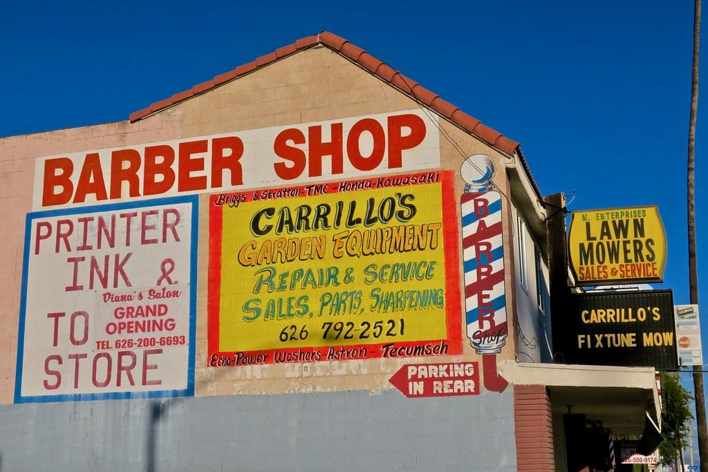 Barber Shop, Pasadena, CA