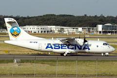 """Agence de Sécurité de la Navigation Aérienne en Afrique et à Madagascar """"The Agency for Aerial Navigation Safety in Africa and Madagascar"""" ASECNA ATR42-300 6V-AFW"""