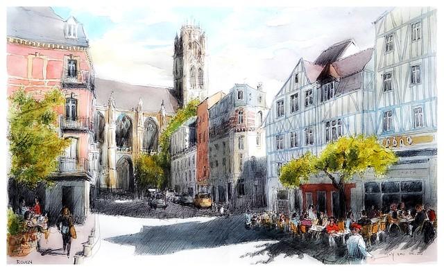 Rouen - Normandie - France