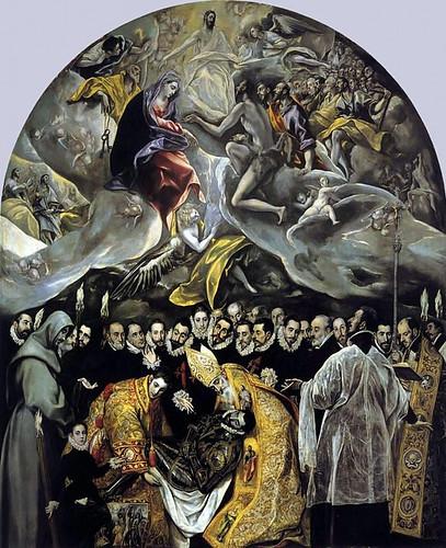 El entierro del Conde Orgaz (El Greco) expuesto en Toledo