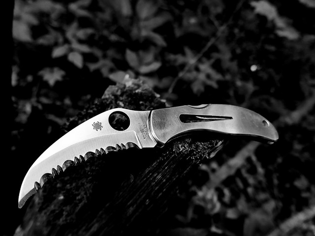 Spyderco Harpy. Hannibal Lecter approves