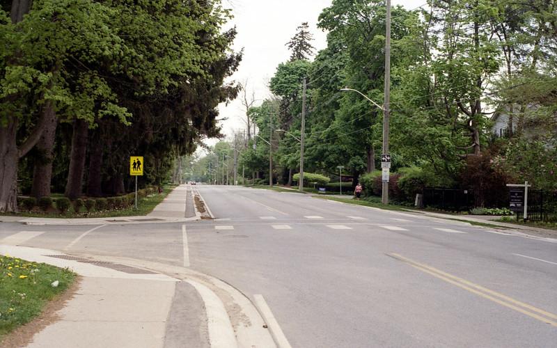 Empty Lakeshore Road June 1