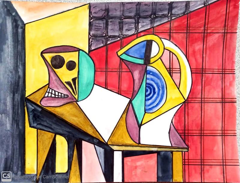 Paula Meré ( still life with skull )