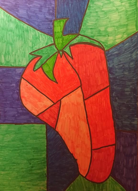 Lucas Benítez ( Strawberry Cubism Art )