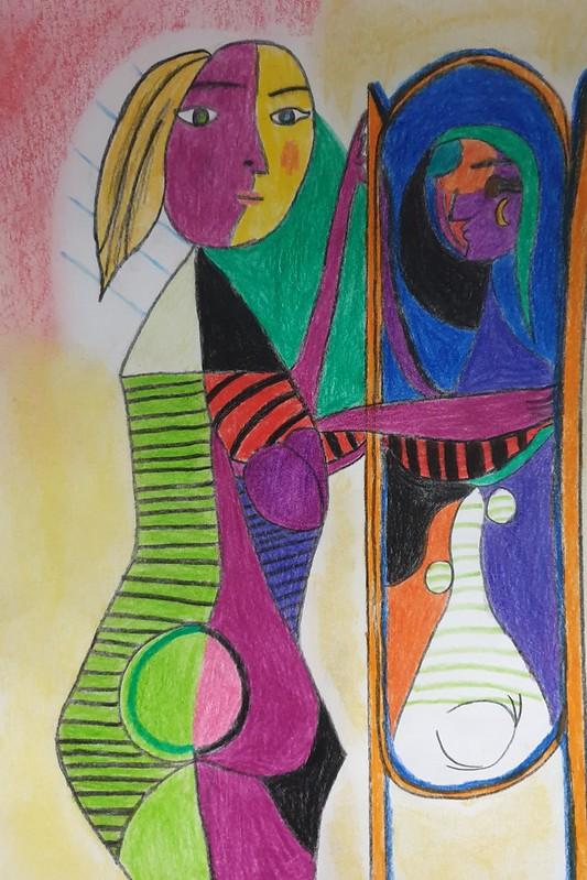 David Carretero ( Mujer frente al espejo )