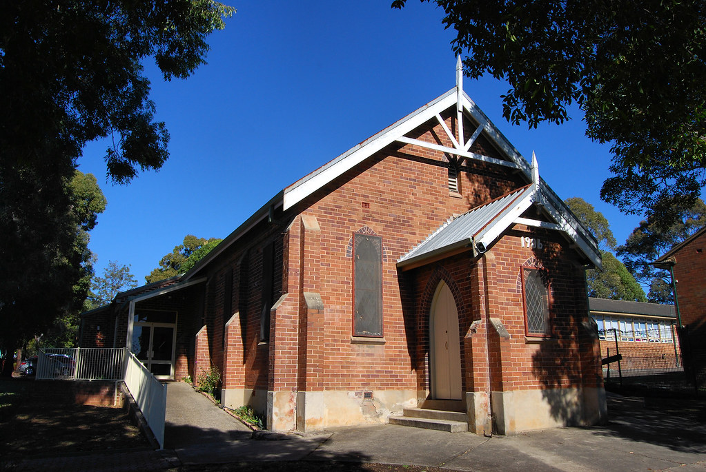Baptist Church, Smithfield, Sydney, NSW.
