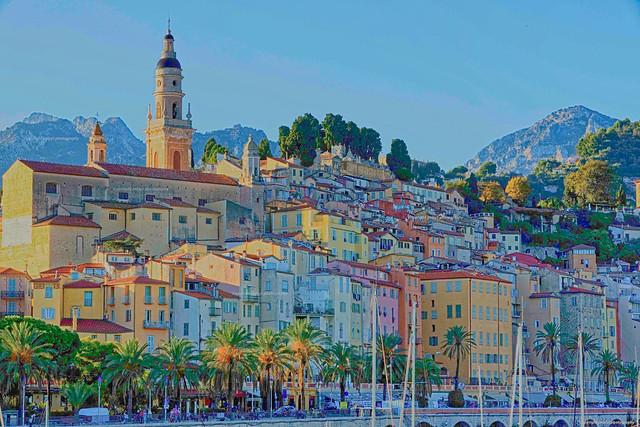 Menton sur la Côte d'Azur France -1L8A4340_DxO
