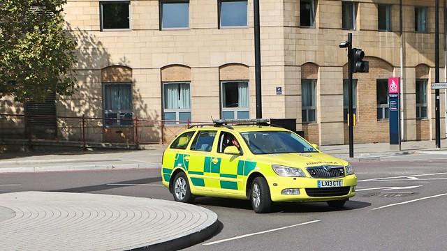 London Ambulance Service NHS Trust - LX13CTE