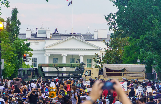 2020.06.03 Protesting the Murder of George Floyd, Washington, DC USA 155 50239