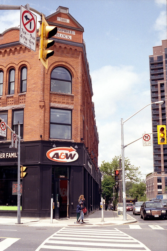 Corner of A and W