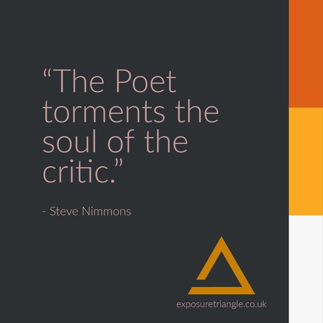 Poetry Quotes - The Poet and The Critic
