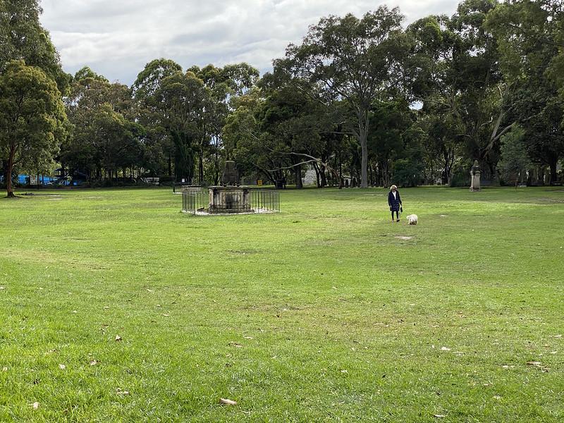 St Thomas Rest Park dog area