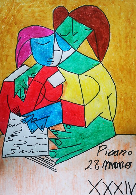 Francisco Valle ( dos mujeres leyendo )