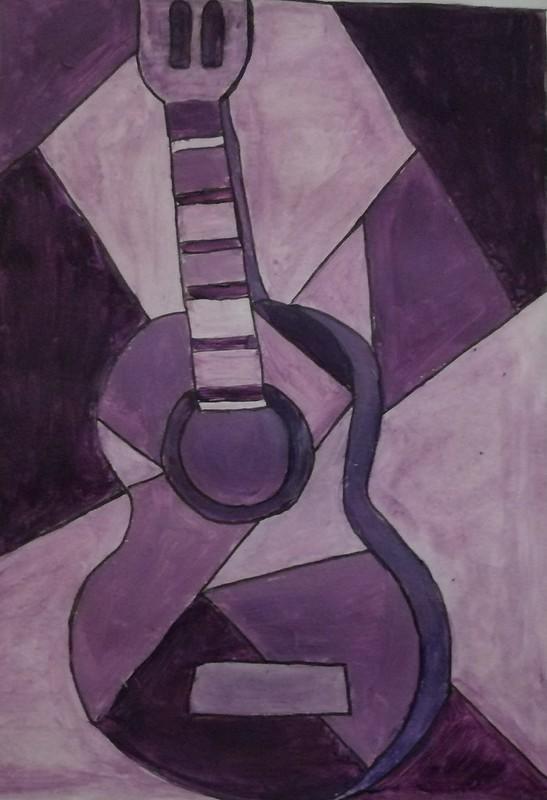 Hafssa Amel ( guitarra blava )