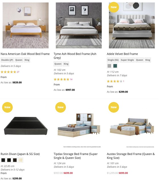 16 Best Places To Buy Bed Frames In Singapore Updated 2020 Furnituresingapore Net