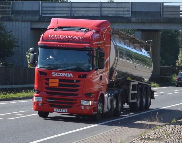 Redway European PE64 ETT At Welshpool (Ex Huntpac)