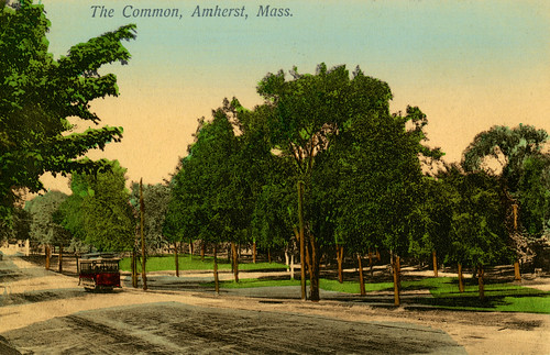 Amherst Trolley from Jones LIbrary