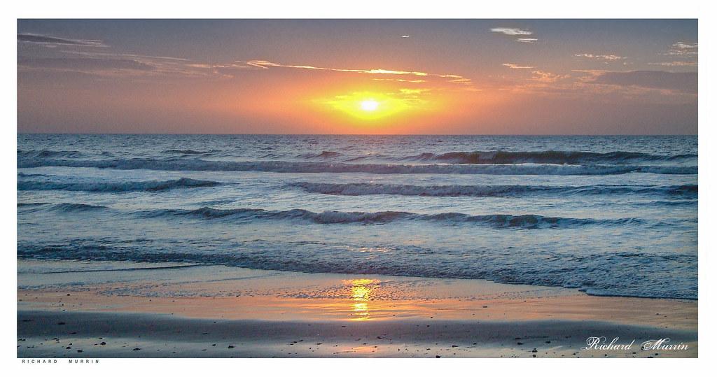 Atlantic Sunset, Gambia, 2007.