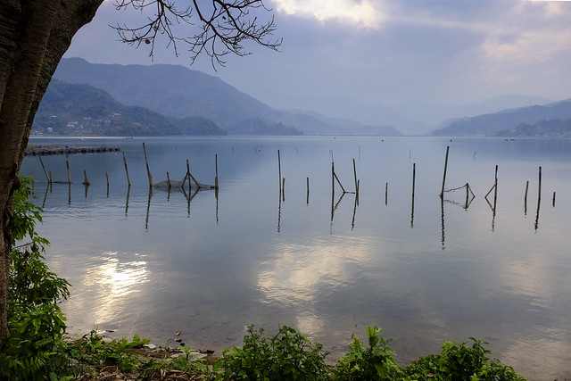 Peacefull Pewa  lake  ( on explore )