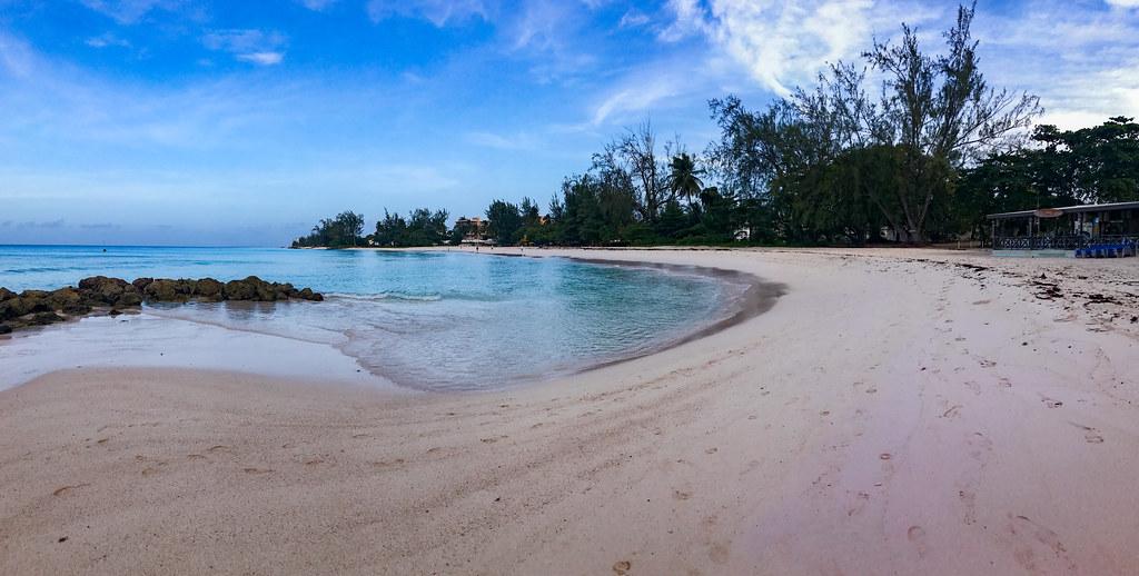 Rockley beach, Bridgetown, Barbados ロッコリー浜、ブリッジタウン、バルバドス