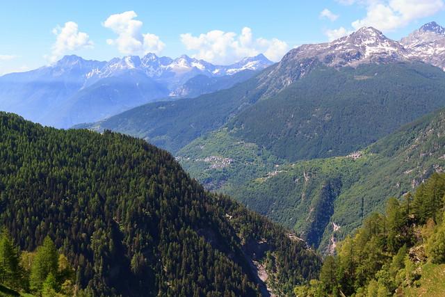 Tra Valle Spluga e Valchiavenna