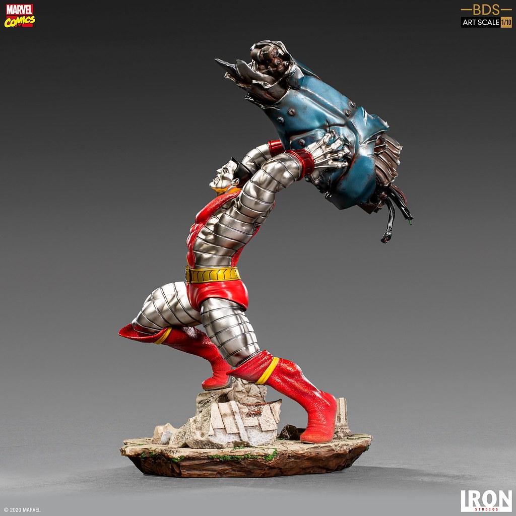 充滿魄力的投擲姿態!! Iron Studios Battle Diorama 系列 Marvel Comics【鋼人】Colossus 1/10 比例全身雕像