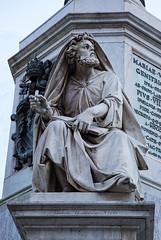 Colonna Dell'Immacolata a Piazza Mignanelli - Rome Immaculate Conception column in Piazza Mignanelli -  RomaColonne de l'Immaculée Conception  sur la Piazza Mignanelli: Profeta Isaia (Salvatore Revelli)