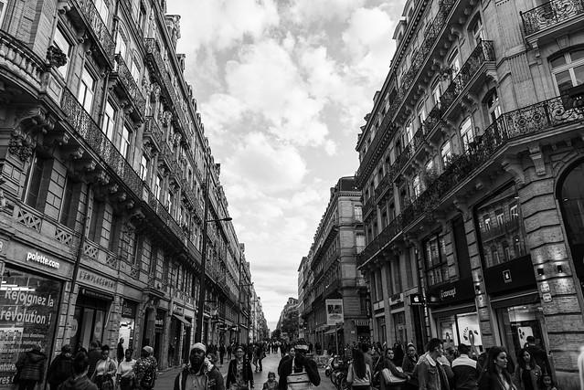 perspective du coeur de Toulouse