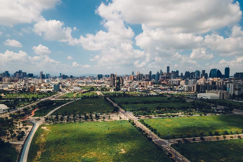 水湳中央公園空拍 Mavic Air 2