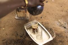 Ataya - traditional Gambian green tea