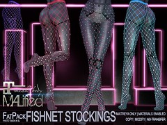 MALified - Fishnet Stockings - FatPack Part 1